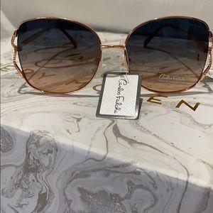 Carlos Falchi Women's aviator Sunglasses